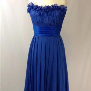 Morilee by Madeline Gardner Royal Blue Dress  10